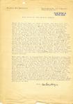 Letter from Eva A. Sandberger to Senator Langer thanking him for his efforts on behalf of her husband, Martin Sandberger, 1950