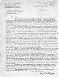 Letter from Eva Sandberger to Senator Langer Regarding Martin Sandberger, 1949