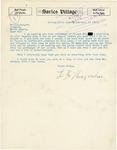 Letter from L. F. Hinegardner to State Attorney General Langer regarding State v. Stepp, 1919
