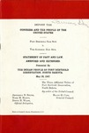 Fort Berthold Dam Site v. The Garrison Dam Site Statement of Fact and Law. Amended and Extended, 1947