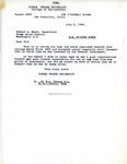 Letter from Sierra States University Dean R. L. Peters to Enemy Alien Control Supervisor Edward G. Ennis regarding Richard Auras, 1942