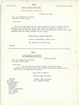 Two Letters from Sierra States University President and Student Leaders to the United States Immigration Service in support of Student Richard Auras, 1942