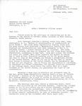Letter from Curt Benedict to William Langer Regarding the Internment of Richard Auras, 1946