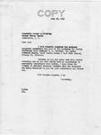 Letter from Senator Langer to Senator McCarthy Regarding Martin Sandberger, 1949