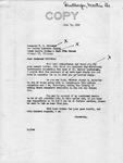 Letter from Senator Langer to T. W. Strieter Regarding Langer's Forwarding of Martin Sandberger Materials to Senator McCarthy, July 29, 1949