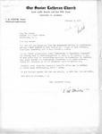 Letter from Pastor T. W. Strieter to Senator Langer Regarding Martin Sandberger, February 2, 1950