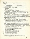Letter from Richard Auras to Senator Langer and Attorney General Clark Requesting Six Month's