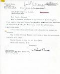 Letter from Richard Auras to Senator Langer Regarding Claimed involvement with D.A.B, 1946