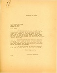 Letter from Attorney General Langer to Henry G. Owen Regarding Owen's Injury and Hospitalization, 1919