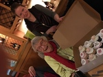 Tamar Read's 98th birthday (Feb 27) party at Olive Garden Restaurant 1 by Janet Rex