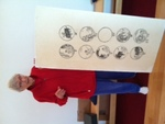 Lotus Meditation Center -- Tamar Read gives presentation -- Ox Herding -10 Stages of Enlightenment 1 by Janet Rex