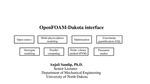 OpenFOAM Dakota interface