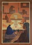 Navajo Sunset by Anita Caldwell Jackson