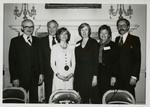 Senator Quentin Burdick with Concordia College Dignitaries, 1978