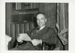 Governor Fred Aandahl Relaxing in Office