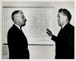 John Hove and Senator Quentin Burdick