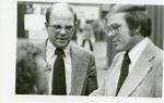 Al Olson and Byron Dorgan at the North Dakota Farmers Union Convention