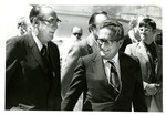 Senator Milton Young and Secretary of State Henry Kissinger