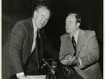 Quentin Burdick and Hubert Humphrey