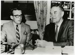 Byron Dorgan with Senator Quentin Burdick