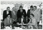 Bill Signing with Governor George Sinner