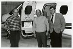 "Earl Strinden, Al Olson, John Odegard, and ""Air Strinden"""