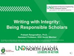 Writing with Integrity: Being Responsible Scholars