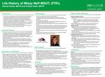 Life History of Missy Neff MSOT, OTR/L by Hannah Burks and Kristen Kilian