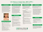 Life History of Jason Kjar, MOT, OTR/L by Alana Grabarkewitz and Alyana Simpron