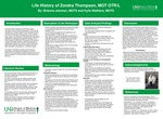 Life History of Zondra Thompson, MOT OTR/L by Brianna Johnson and Kylie Walthers