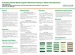 Evaluating Internet Based Cognitive Behavioral Therapy in Adults with Depression