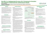 Non-HDL-C or Apolipoprotein-B versus LDL-C Screening for Evaluation and Treatment of Atherosclerotic Cardiovascular Disease