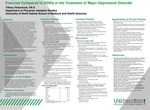 Exercise Compared to SSRIs in the Treatment of Major Depressive Disorder by Tiffany Fletschock