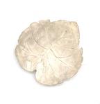 C MSC 275-0848, Unglazed bisque leaf by Marcia Bisbee