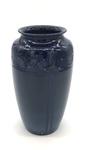 C CBL 015-0185 Blue Deco Vase by Margaret Kelly Cable