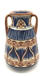 C CBL 032-0202, Decorative vase with handles by Margaret Kelly Cable