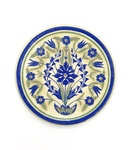 C CBL 054-0224, Blue cornflower design plate by Margaret Kelly Cable