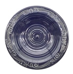 C CBL 073-0243, Large Dark Blue Shallow Bowl by Margaret Kelly Cable