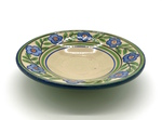 C CBL 061-0231, Plate with blue flowers by Margaret Kelly Cable