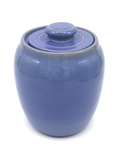 C CBL 064-0234, Blue Cookie Jar by Margaret Kelly Cable