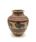 Bison Vase by Margaret Kelly Cable