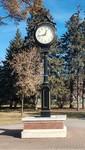 UND Clock by Verdin Company