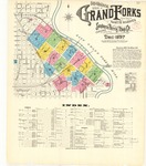 Grand Forks: 1897 by Sanborn Map Company