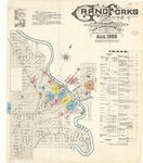 Grand Forks: 1888 by Sanborn Map Company