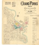 Grand Forks, 1884 by Sanborn Map Company