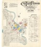 Grand Forks, 1888 by Sanborn Map Company