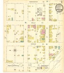 Devils Lake, 1886 by Sanborn Map Company