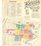 Fargo, 1888 by Sanborn Map Company