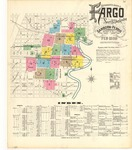 Fargo, 1896 by Sanborn Map Company