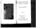 Umbandine A Romance of Swaziland